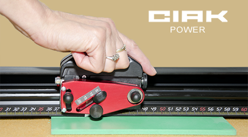 CIAK Power horizontal strong multimaterial cutter with 20mm steel blade