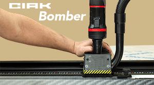 Taglierina elettrica orizzontale Gielle CIAK BOMBER di grande formato